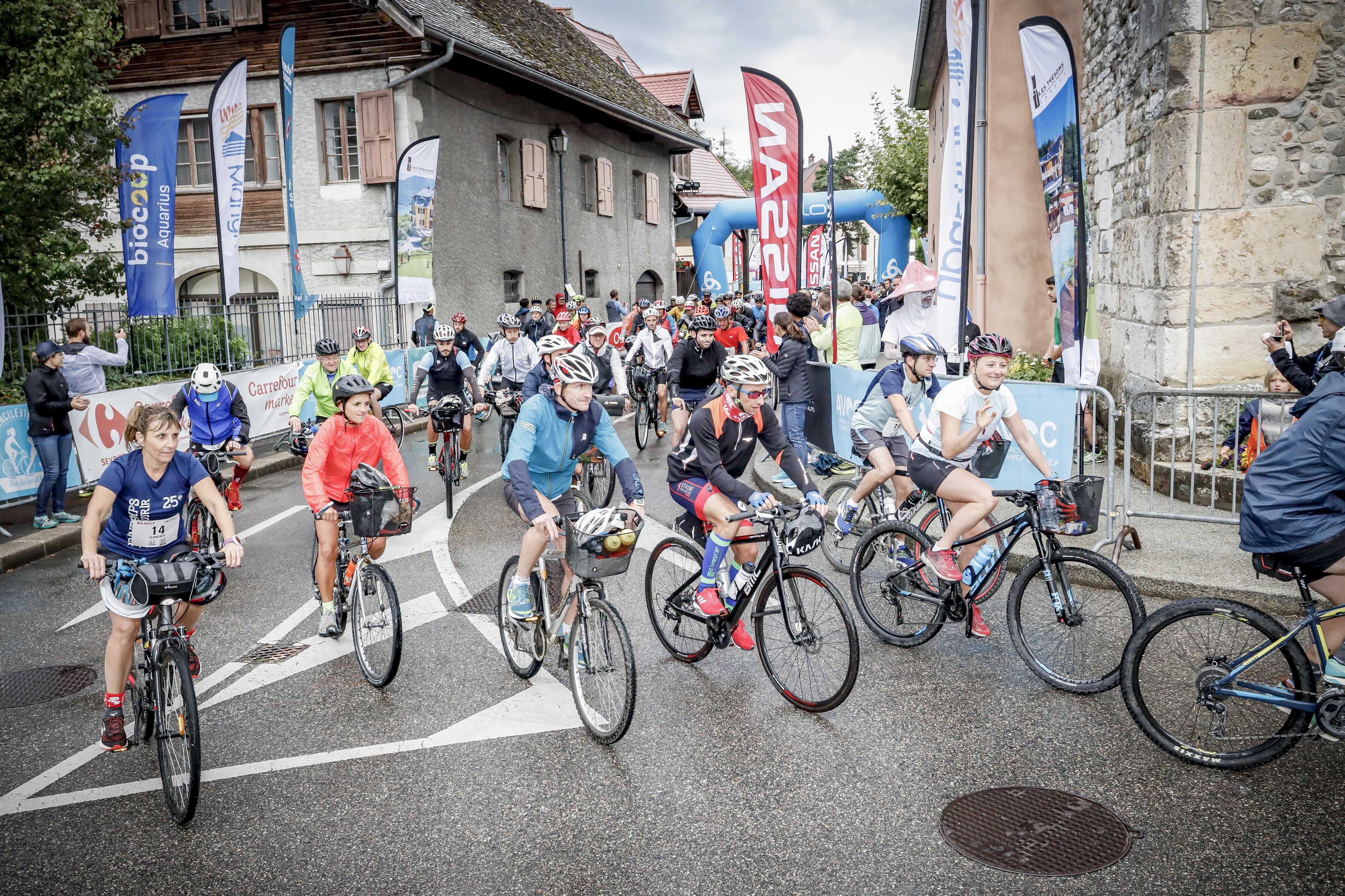 Départ vélos / Ancilevienne 2019